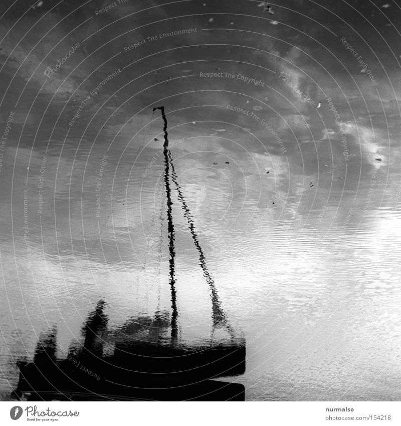 A journey into the unknown Watercraft Shadow Mirror Sail Harbour Driving Mast Captain Gale Reef Dinghy Playing Navigation wooden boat Havel