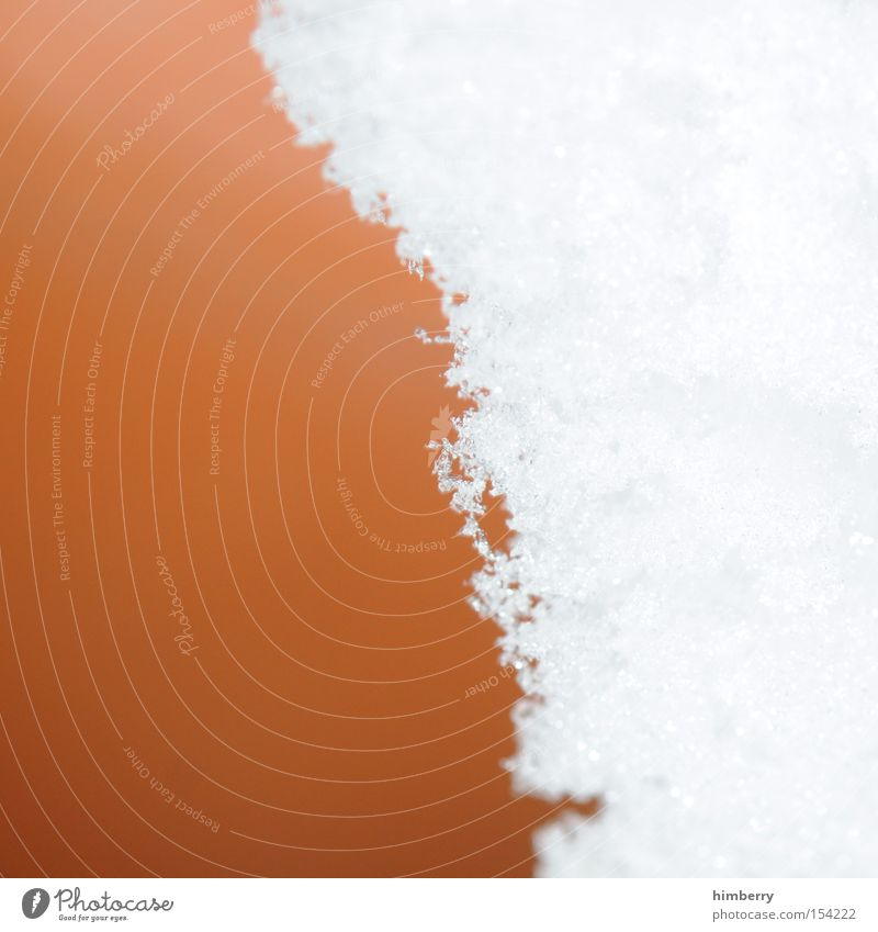 snow line Snow Winter Design Ice Ice age Seasons Cold Climate Weather Background picture Macro (Extreme close-up) Close-up Snowfall limit
