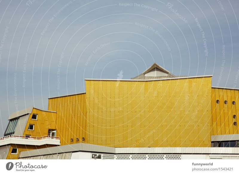 the yellow philharmonic orchestra Art Architecture Event Concert Hall Esthetic Berlin Philharmonic Yellow Building Classical Music Orchestra