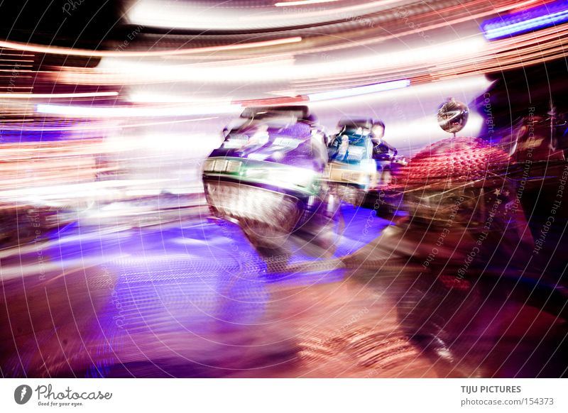 KIRMES SPEED Fairs & Carnivals Carousel Speed Light Rotation Rotate Vertigo Breakdance Joy