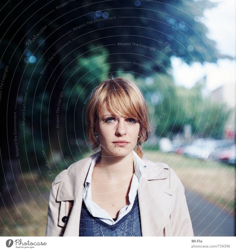 Summer Street Portrait photograph Jacket Medium format Kreuzberg July