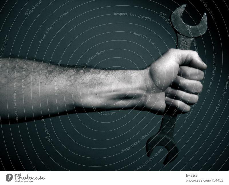 Hand Craftsperson Power Metal Arm Force Metalware Craft (trade) Tool Screw Repair Screw Locksmith