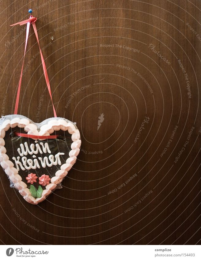 Old Love Nutrition Wall (building) Wood Small Germany Heart Design Decoration Sweet Gloomy Retro String Kitsch Candy