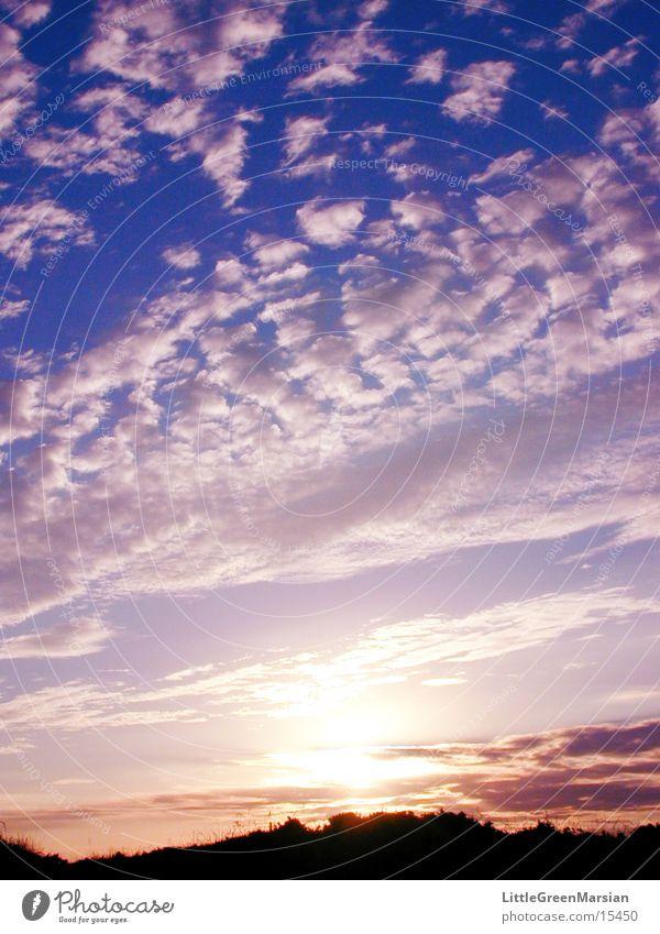 sunset 03 Sunset Clouds Altocumulus floccus Colour Sky
