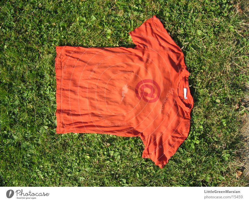 @ shirt T-shirt Meadow Grass Things orange @ sign