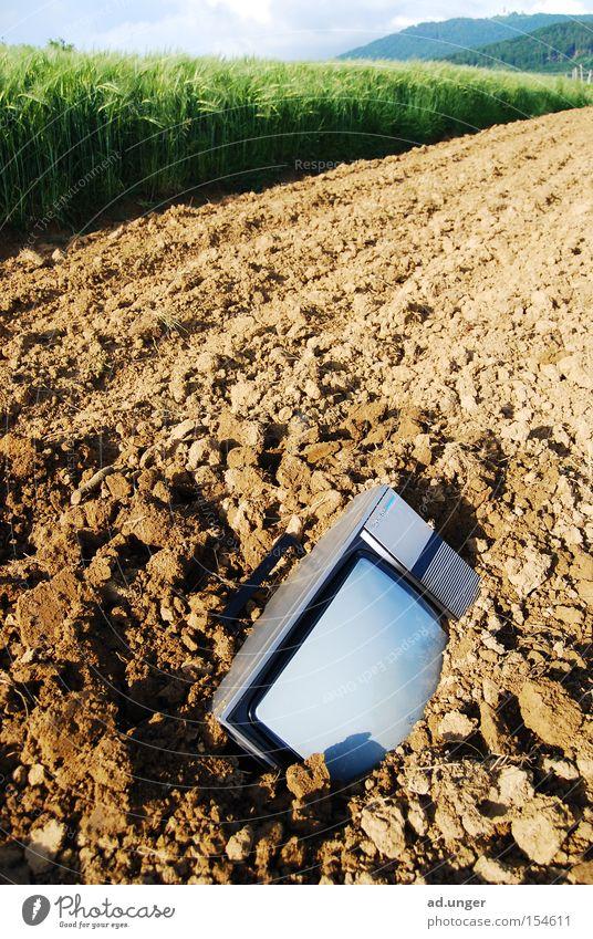 Death Field Earth TV set Ground Radio (broadcasting) Real estate Media Possessions Bury