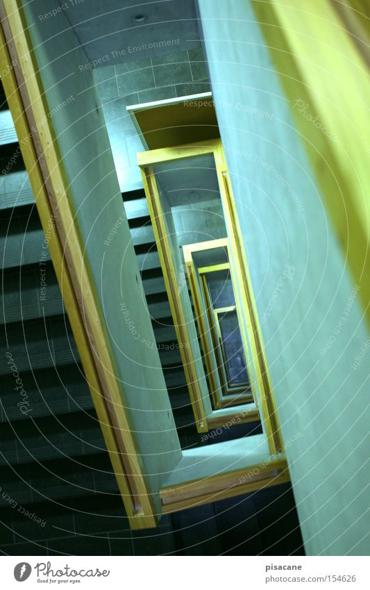 Wood Stone Architecture Going Concrete Stairs Modern Blackboard Upward Escape Downward Come Banister Spiral