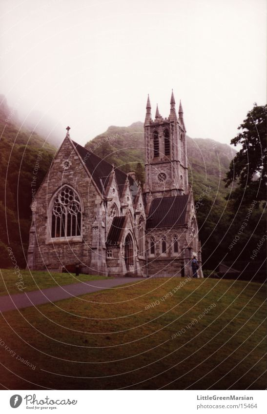 Forest Grass Religion and faith Fog Historic Ireland House of worship Drizzle
