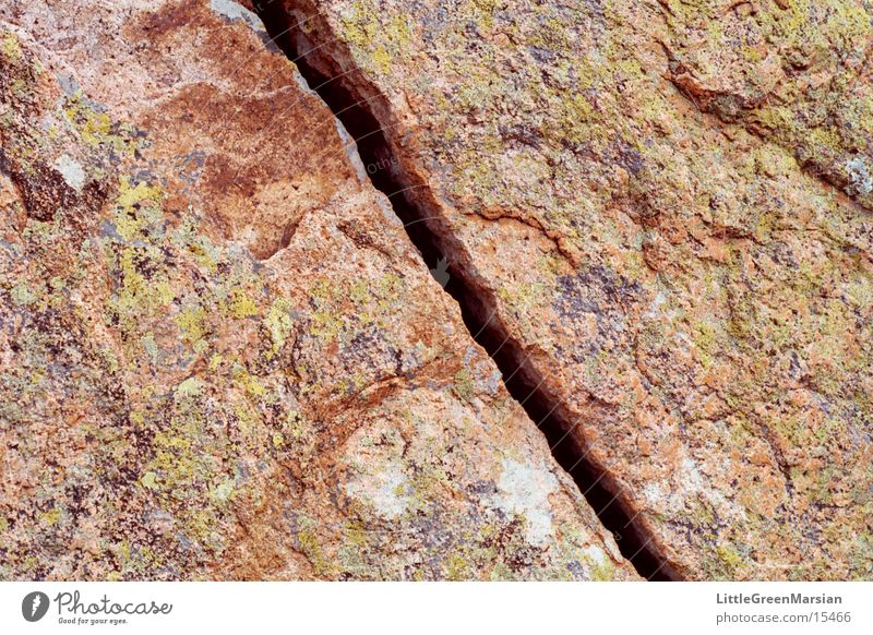 crack Multicoloured Rough Torn Jump Stone Rock Crack & Rip & Tear