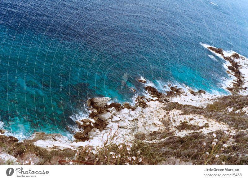 cap corse Ocean Gray Surf Water Blue Rock