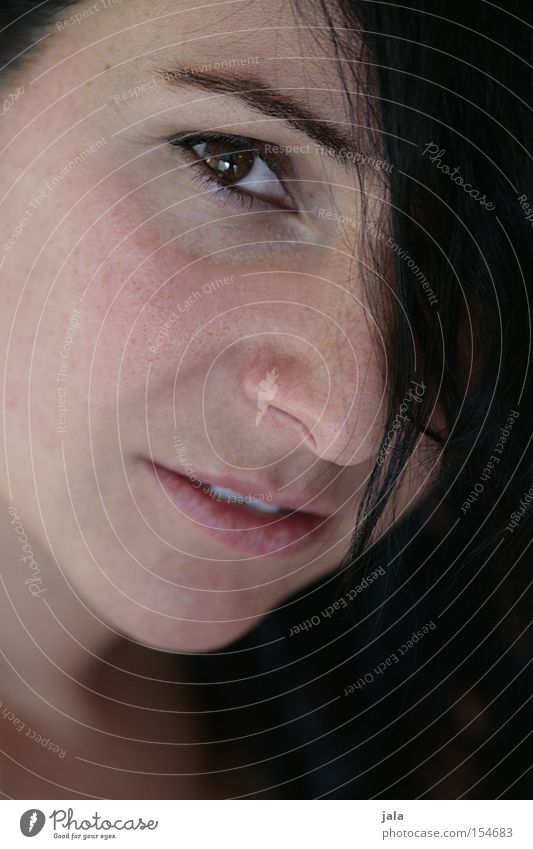 Woman Face Eyes Emotions Hope Trust Snapshot Insecure Pervasive