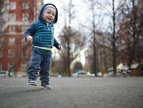The first independent steps of the kid. Natural colors, shallow dof. Joy Happy Life Child Human being Masculine Baby Toddler Boy (child) Family & Relations