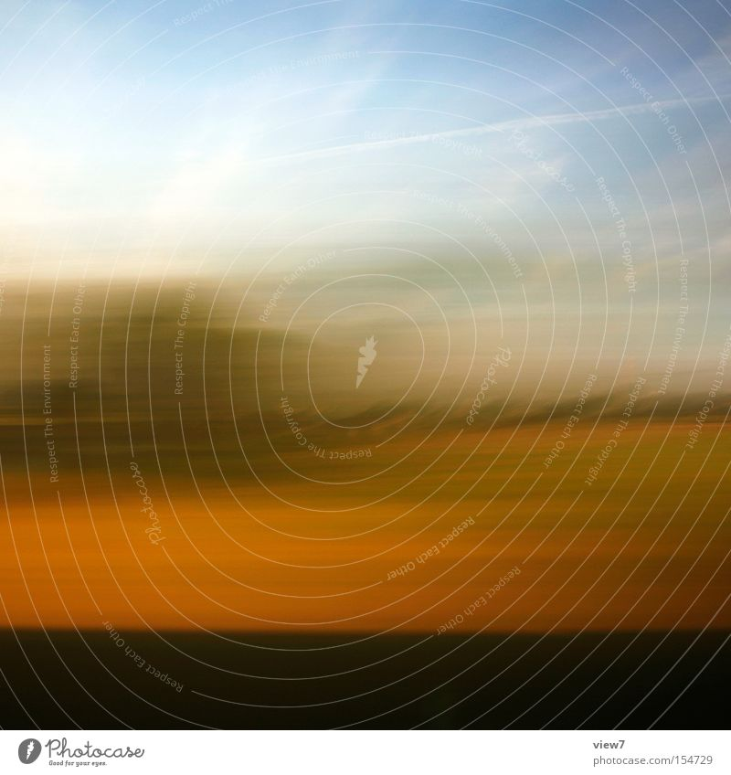 Sky Summer Colour Background picture Abstract Horizon Transport Speed Driving Stripe Beautiful weather Past Exposure