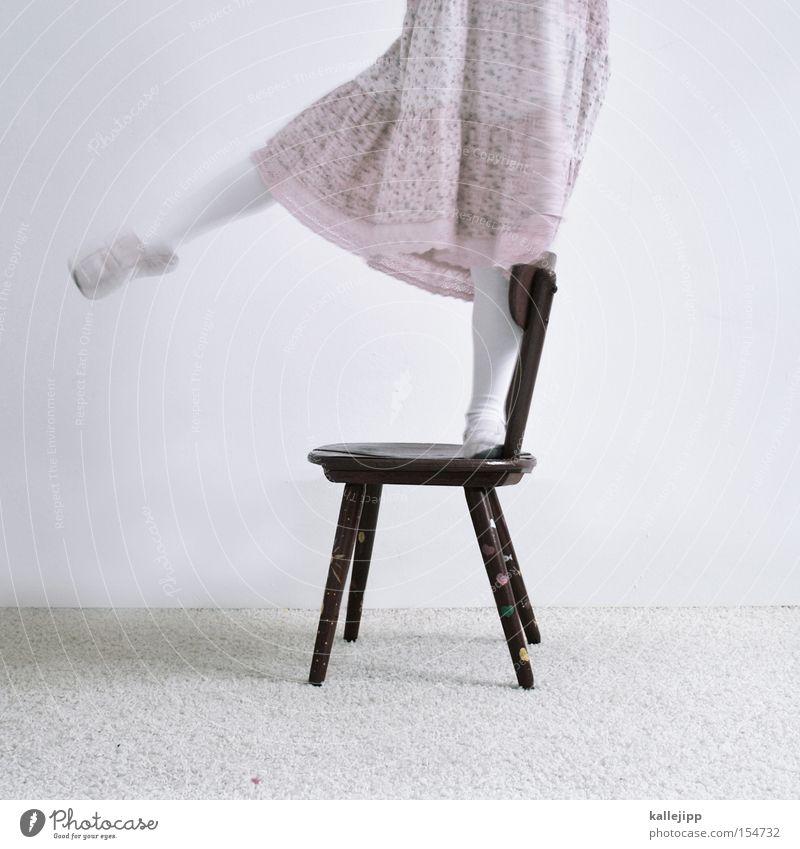 Child Joy Playing Movement Legs Contentment Footwear Pink Chair Education Dress Dancer Ballet Receipt