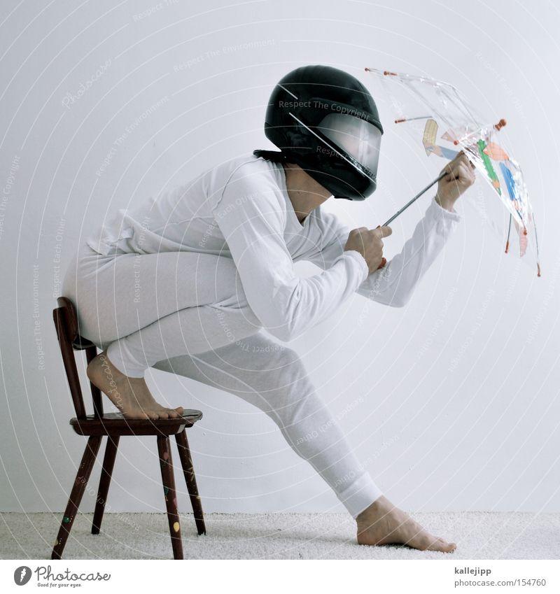 Human being White Speed Safety Umbrella Sunshade Umbrellas & Shades Motorcycle Underwear Helmet Carpet Gymnastics Colour Boast Military aircraft Gun sight
