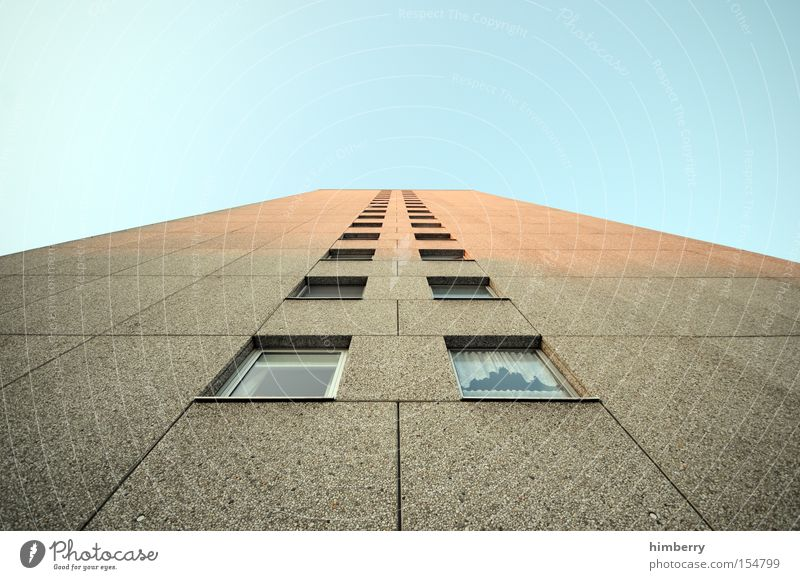 House (Residential Structure) Window Building Contentment Architecture High-rise Tall Facade Prefab construction Apartment house Tower block