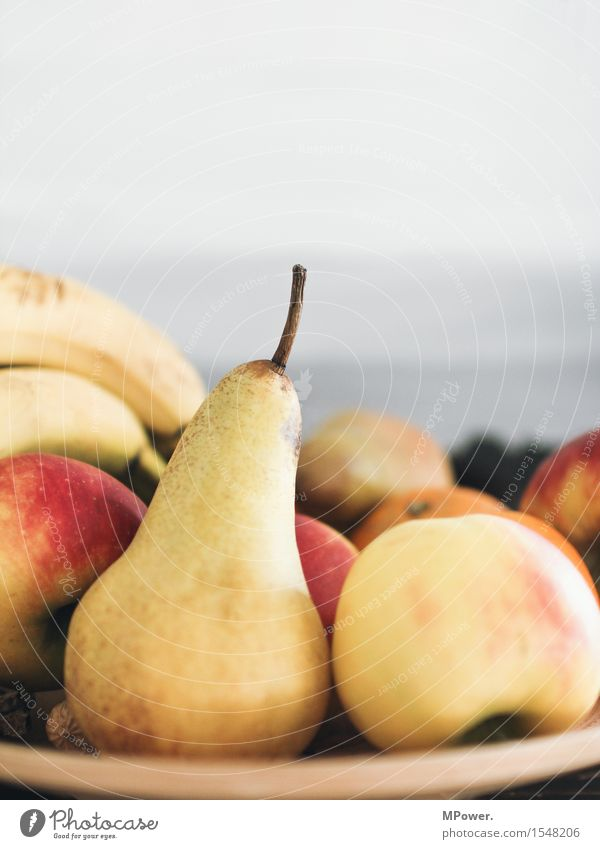 pears and apples Food Fruit Apple Nutrition Organic produce Vegetarian diet Diet Fasting Slow food Good Sweet Pear Plate Banana Healthy Delicious Fresh Region