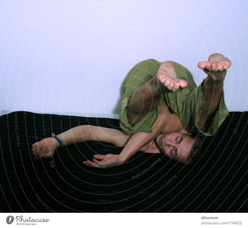 on the roll side Coil Air Sideways Funny Sports Playing Feet Arm Back luxation Posture