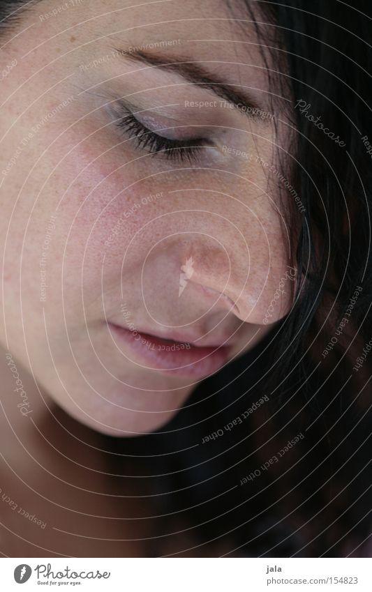 Woman Face Eyes Feminine Emotions Mouth Hope Snapshot Caresses