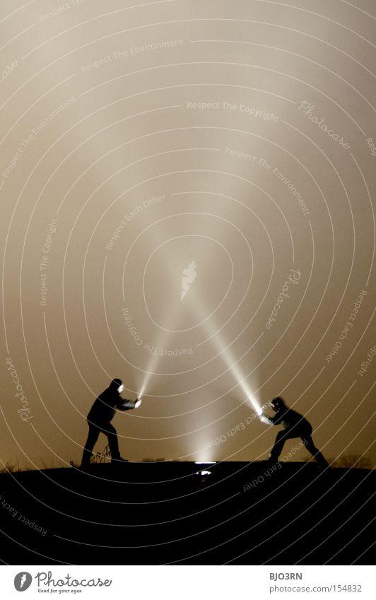 Master lamp VS. Ray McShine #1 Night Dark Light (Natural Phenomenon) Radiation Sunbeam Fight Martial arts Dialog partner Opposite Comparison Classification