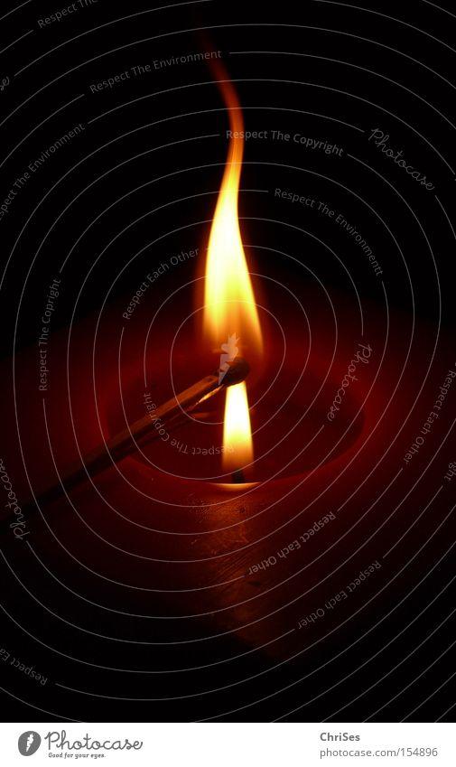 Christmas & Advent Lamp Wood Warmth Lighting Blaze Fire Candle Hot Burn Idea Flame Match Household Wax