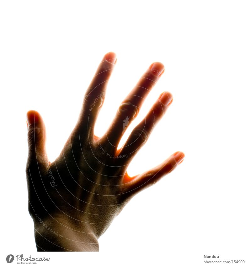 Hand Emotions Bright Fingers Hope Grief Transience Touch Illuminate Radiation Distress Senses Grasp Paradise Blind Sensitive