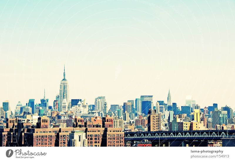 City House (Residential Structure) Work and employment High-rise USA Skyline Society Futurism New York City Manhattan Empire State building