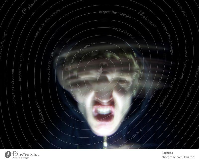 Face Black Dark Head Fear Teeth Creepy Ghosts & Spectres  Panic Illuminate Vertigo Illness Shake Schizophrenia