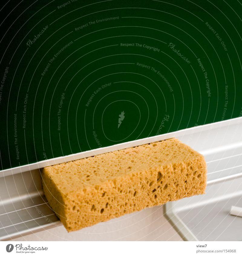 Green School Large Modern New Simple Clean Education Cleaning Blackboard Positive Chalk Cliche Sponge