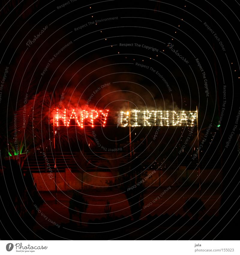 Happy Birthday Occasion Ignite Firecracker Light 100 Jubilee Good luck Feasts & Celebrations Joy Congratulations Pyrotechnics Letters (alphabet) Party Club