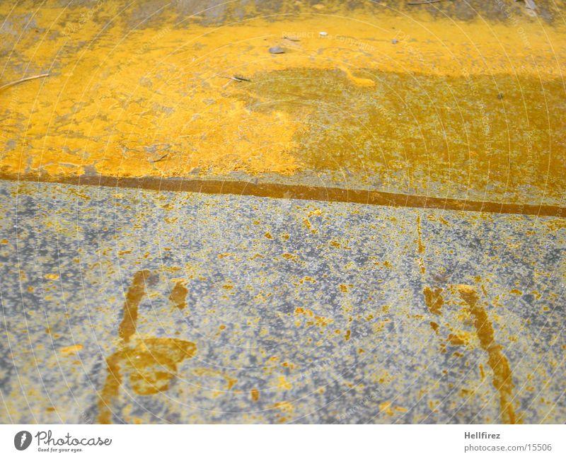 Orange Metal Industry Rust Silver