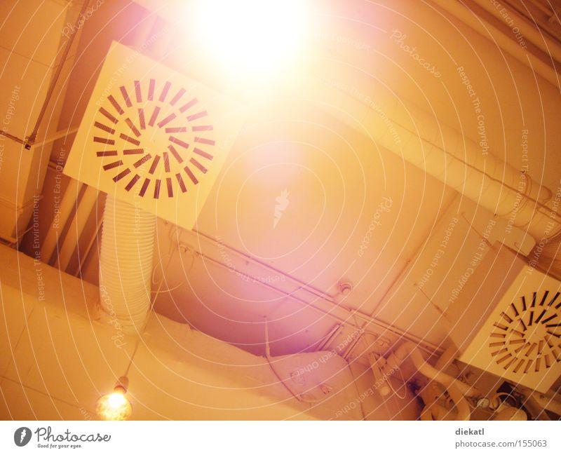 licht.schacht. Light Ceiling Ventilation Shaft Lamp White Bright Detail