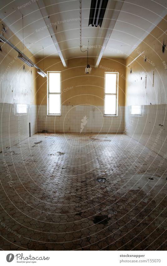 Abandoned Old Room Dirty Tile Derelict Industrial Grunge Nasty
