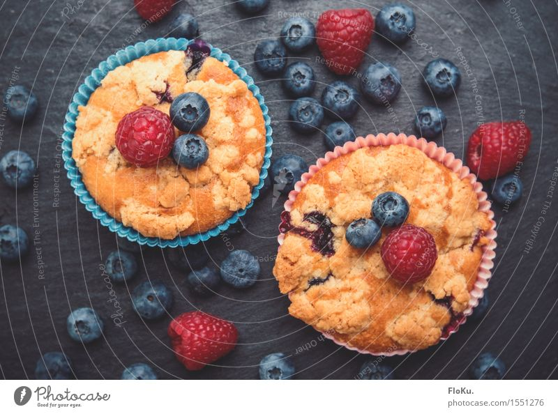 Blue Red Yellow Food Fruit Nutrition Cooking & Baking Sweet Delicious Cake Dessert Berries Baked goods Dough Sugar Blueberry