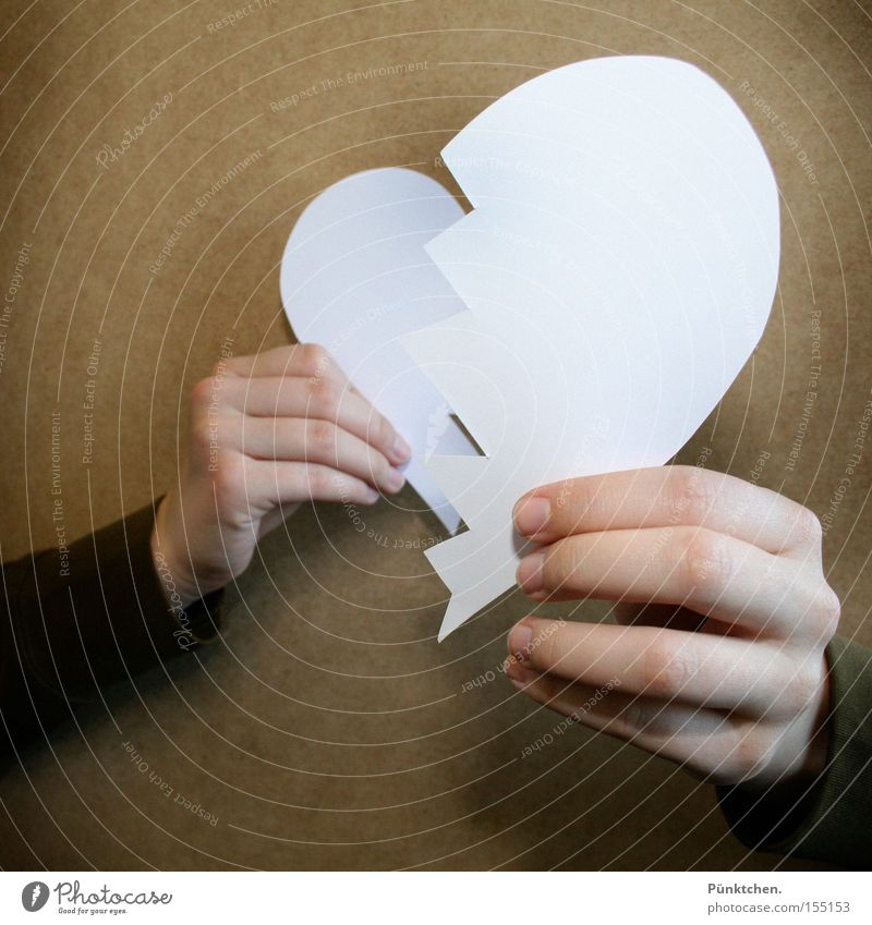 Time heals all wounds* Divide Grief Love Heart Hand Division Divorce Cry Distress from The Mouse