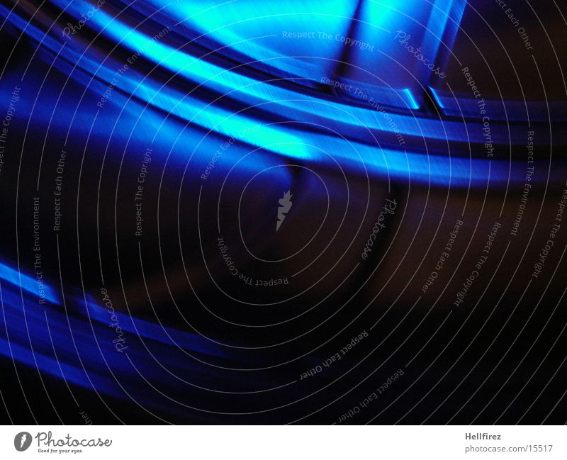 In Motion Steel Aluminium Silhouette Photographic technology Profile pinholes blue light Movement
