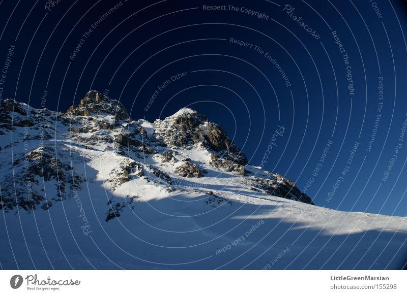 Sky Winter Mountain Snow Rock Ice Switzerland Ski run Canton Graubünden Davos Parsenn
