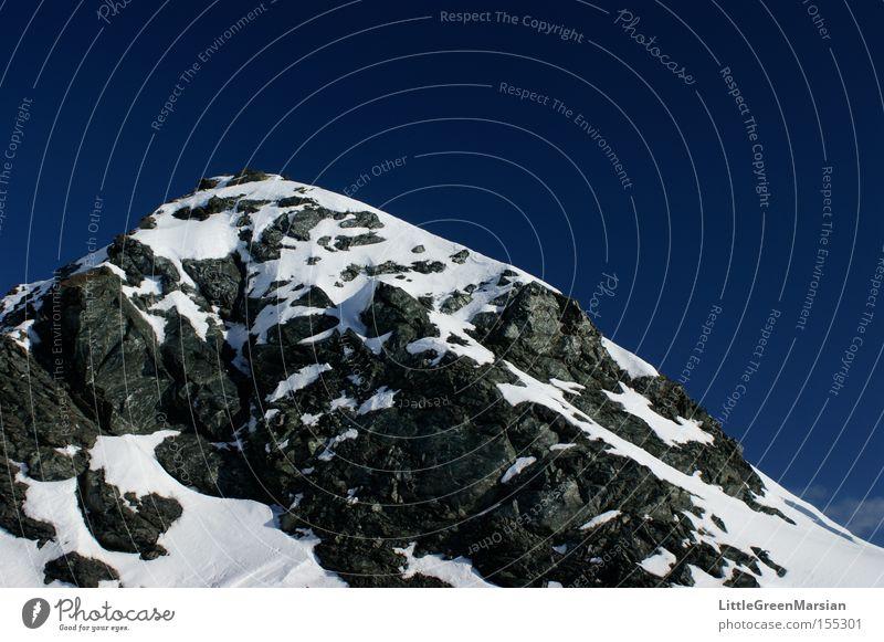 Sky Winter Mountain Snow Rock Alps Switzerland Dappled Canton Graubünden Davos Parsenn