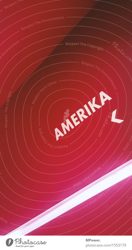 this is not amerika Sign Characters Signs and labeling Signage Warning sign Pink Red Society Crisis Culture Problem solving Argument Sadness Town Decline