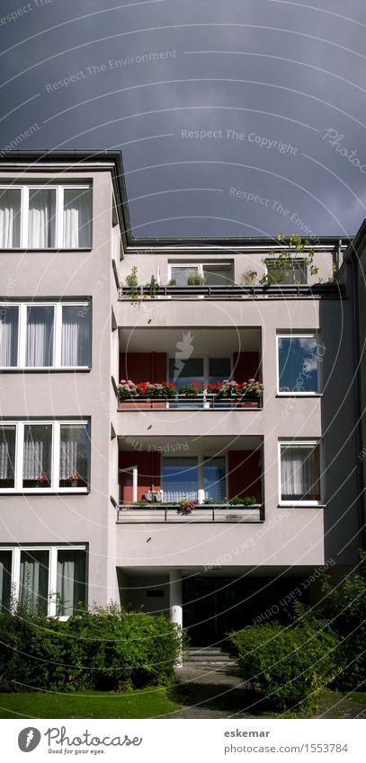habitation Style Living or residing Flat (apartment) House (Residential Structure) Dream house Apartment Building Balcony Berlin Berlin zoo Hansa Quarter