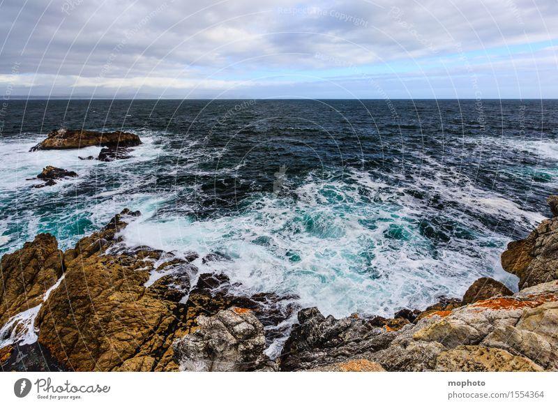 South Atlantic Coast Vacation & Travel Tourism City trip Ocean Waves Environment Nature Landscape Elements Water Sky Clouds Horizon Climate Climate change