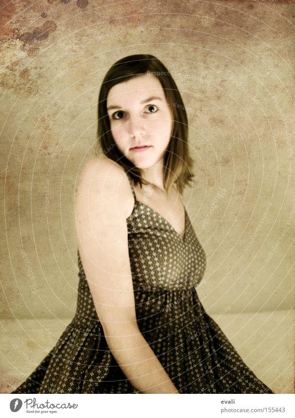 Woman Face Laughter Brown Arm Clothing Portrait photograph Dress