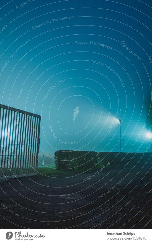 Blue Cold Sadness Autumn Sports Fog Fear Gloomy Threat Fence Pain Border Barrier Creepy Concern Dreary