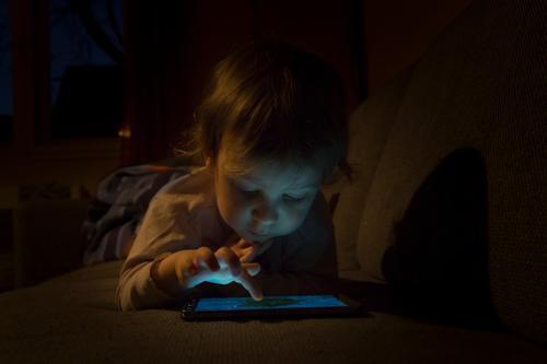 media children Playing Child Cellphone PDA Computer Notebook Screen Technology Entertainment electronics Telecommunications Information Technology Internet