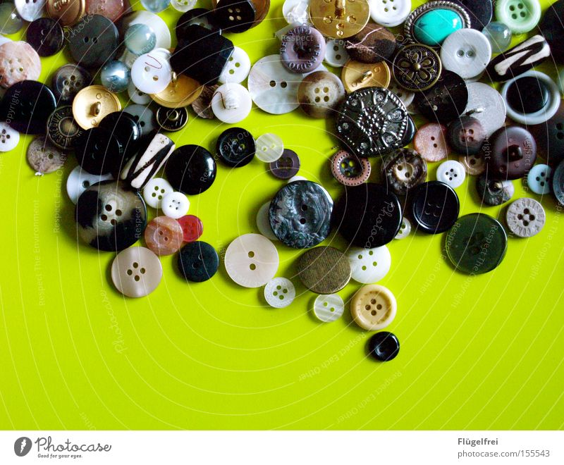 Green White Black Leisure and hobbies Round Turquoise Luxury Craft (trade) Buttons Heap Versatile Rectangle Sewing Handcrafts