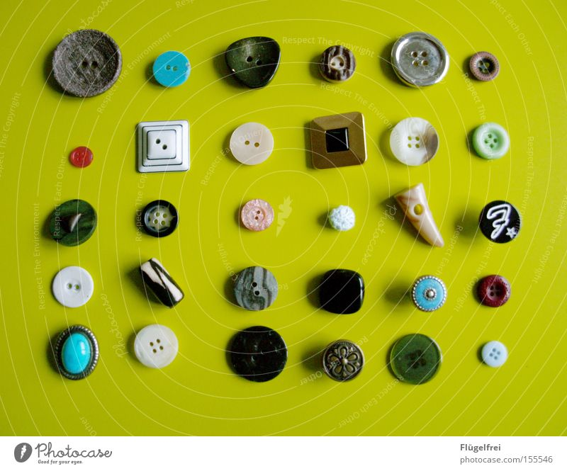 Green White Black Leisure and hobbies Arrangement Round Turquoise Luxury Craft (trade) Buttons Versatile Rectangle Sewing Handcrafts