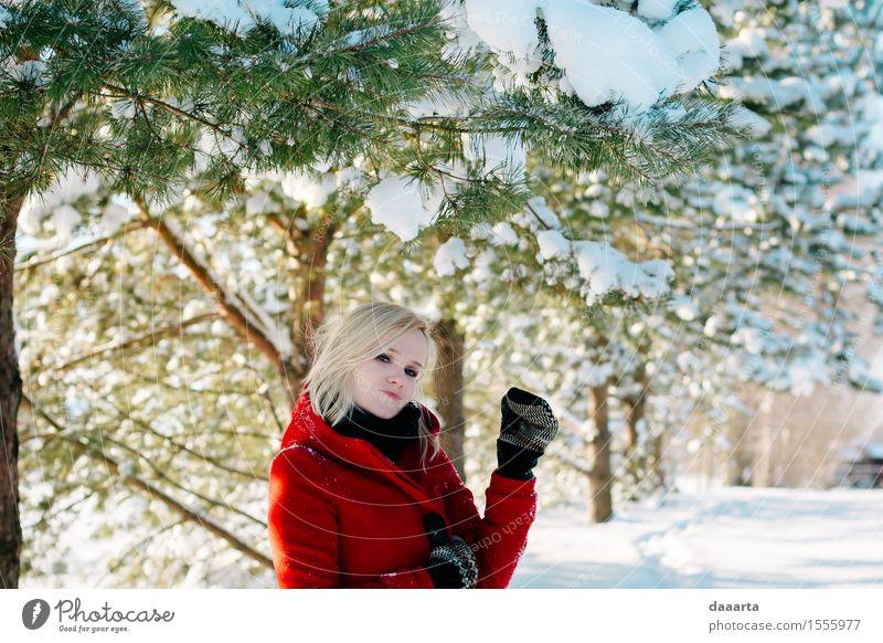 remember winter? Nature Tree Joy Winter Forest Environment Life Emotions Snow Feminine Lifestyle Style Garden Freedom Wild Park