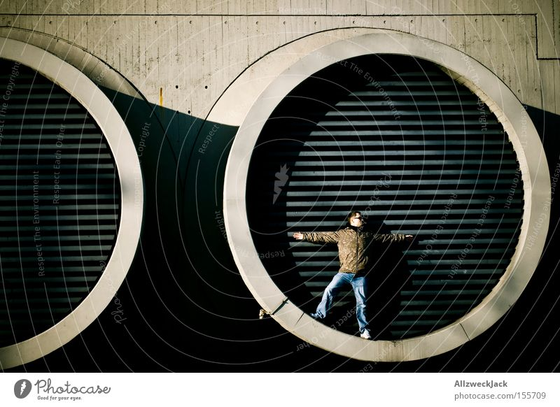 Man Berlin Small Industry Circle Grating Ventilation Proportional Ventilation shaft