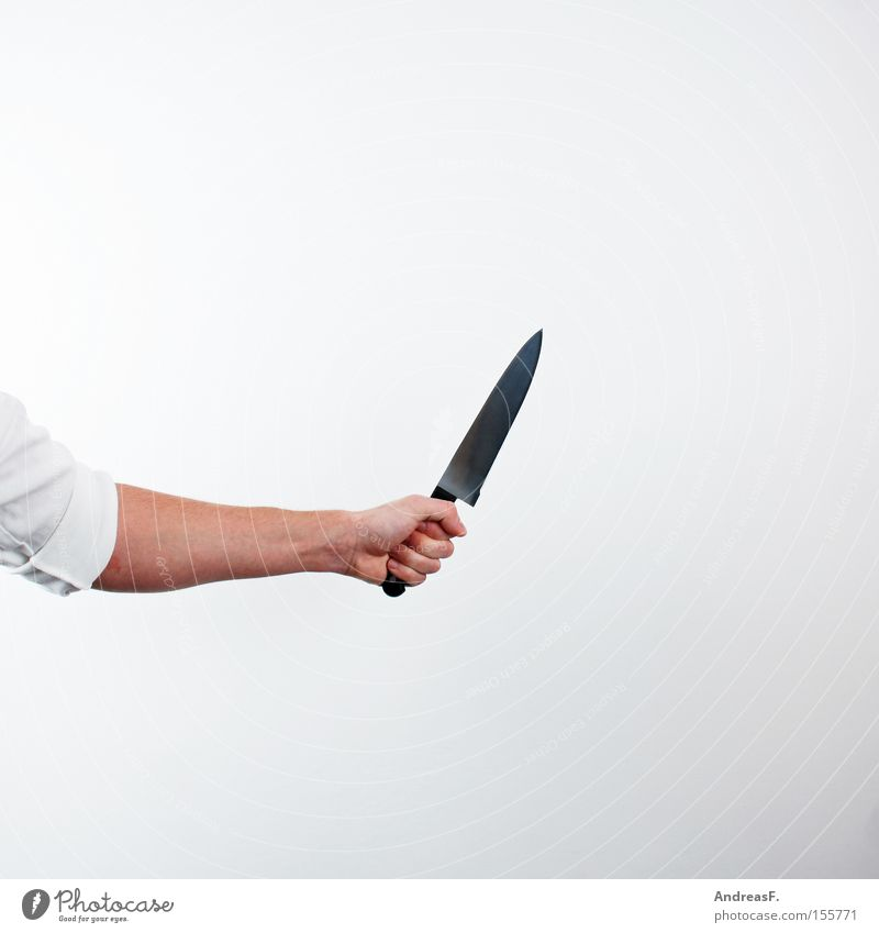 Hand Fear Dangerous Cooking & Baking Creepy Panic Profession Knives Murder Assassin Criminal offense