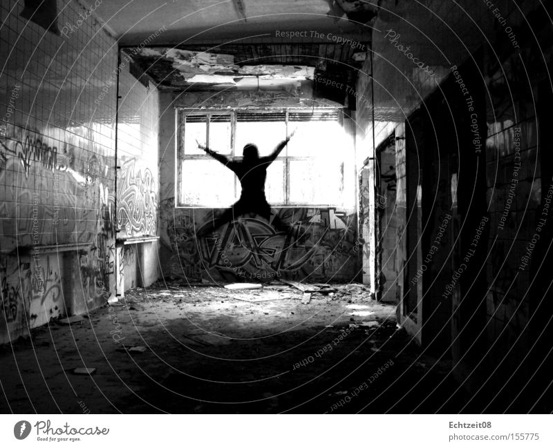 Youth (Young adults) Jump Death Time Might Future Change Derelict Destruction Transform